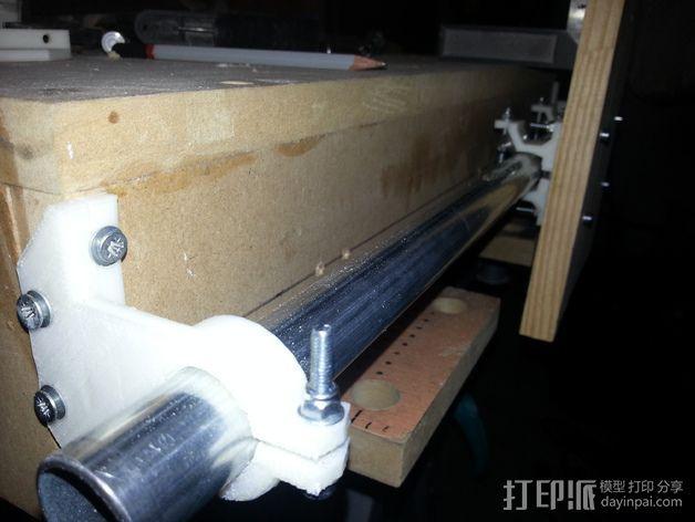 激光切割打印机 3D打印模型渲染图