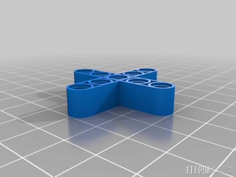 乐高 X-Beam 3D打印模型渲染图