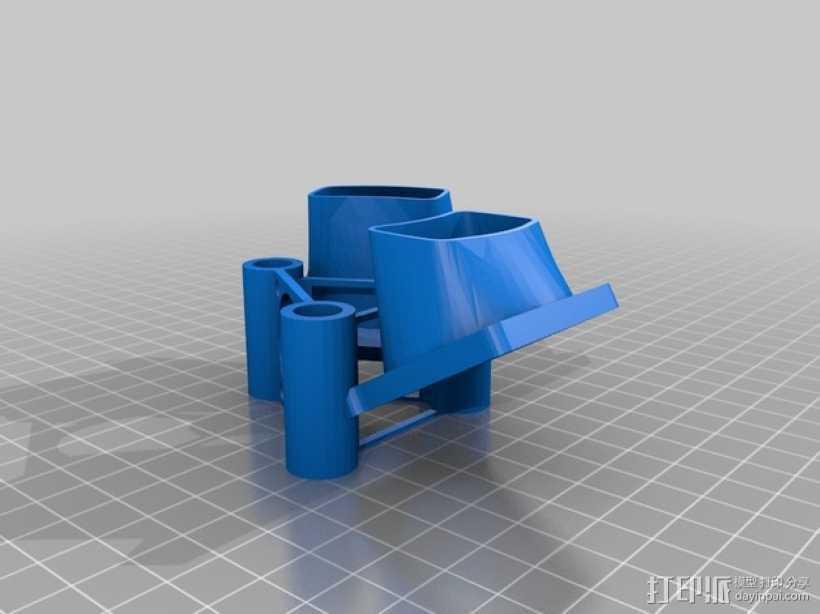 E3D风扇 3D打印模型渲染图