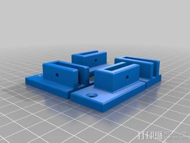 配件 3D打印模型渲染图