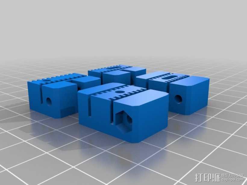 线轴 3D打印模型渲染图