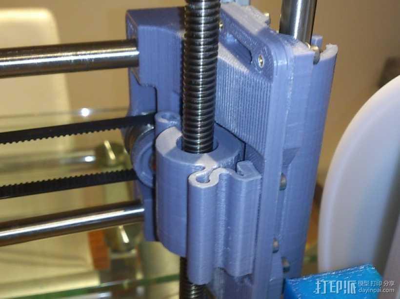 螺纹适配器 3D打印模型渲染图