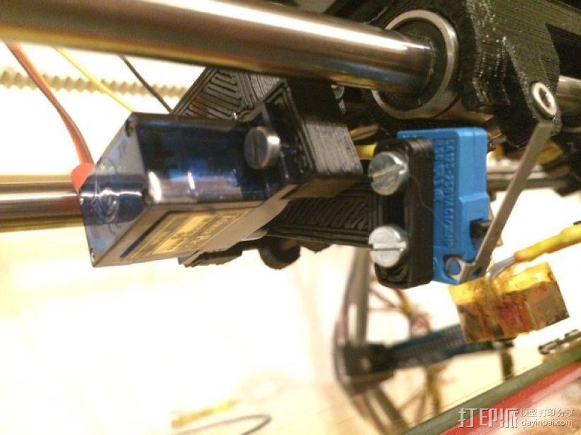 Prusa i2 X适配器 3D打印模型渲染图
