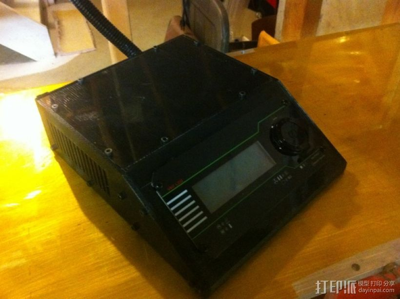 收纳盒 3D打印模型渲染图