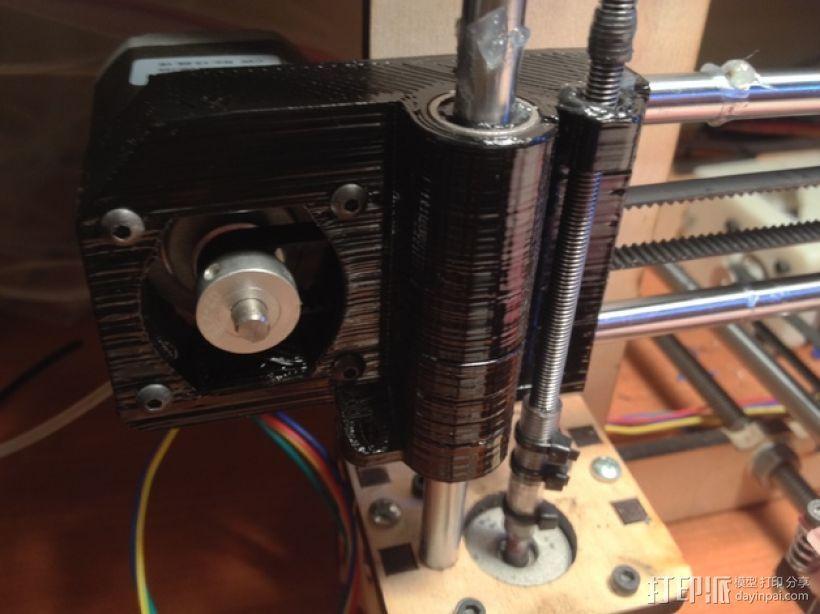 驱动器 3D打印模型渲染图