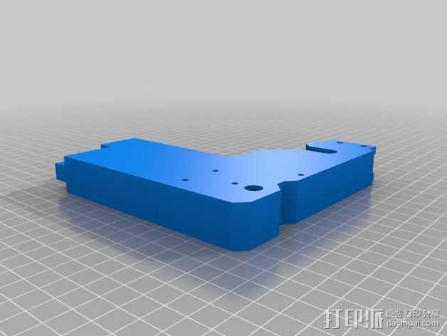 Prusa I3 框架 3D打印模型渲染图