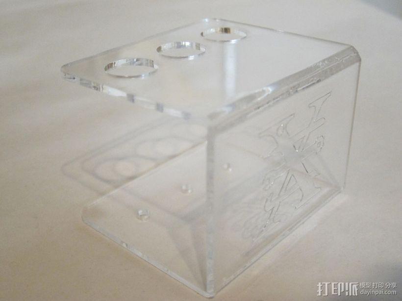 笔座 3D打印模型渲染图