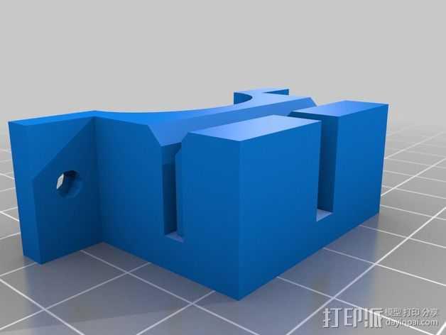支撑器 3D打印模型渲染图