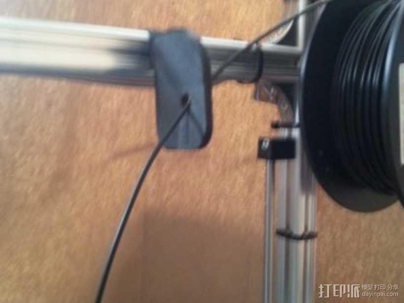 K8200线轴架 3D打印模型渲染图