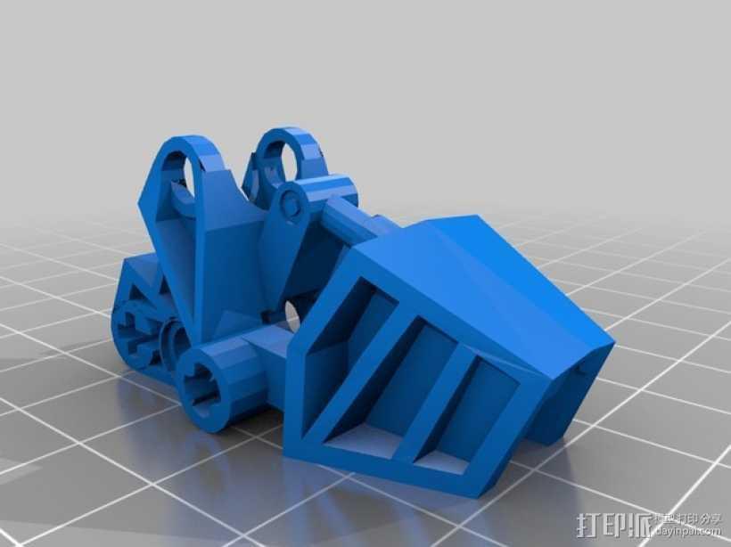 乐高合集 3D打印模型渲染图