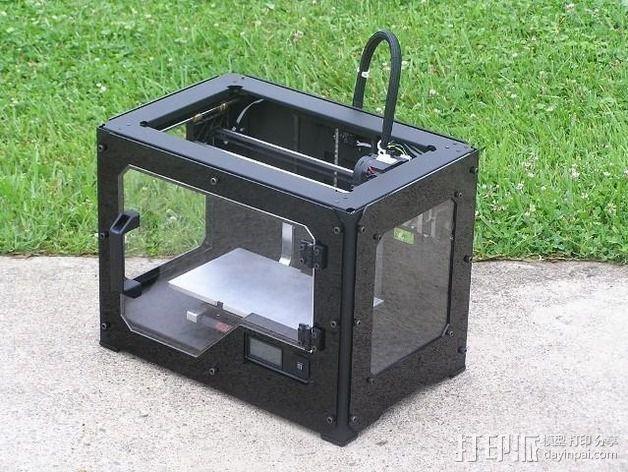 打印机适配器 3D打印模型渲染图
