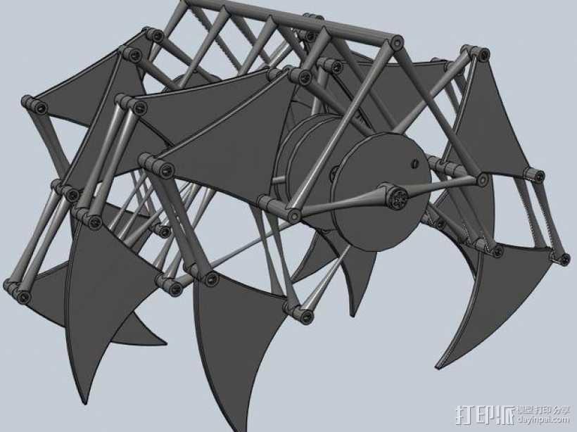 沙滩怪兽摆件 3D打印模型渲染图