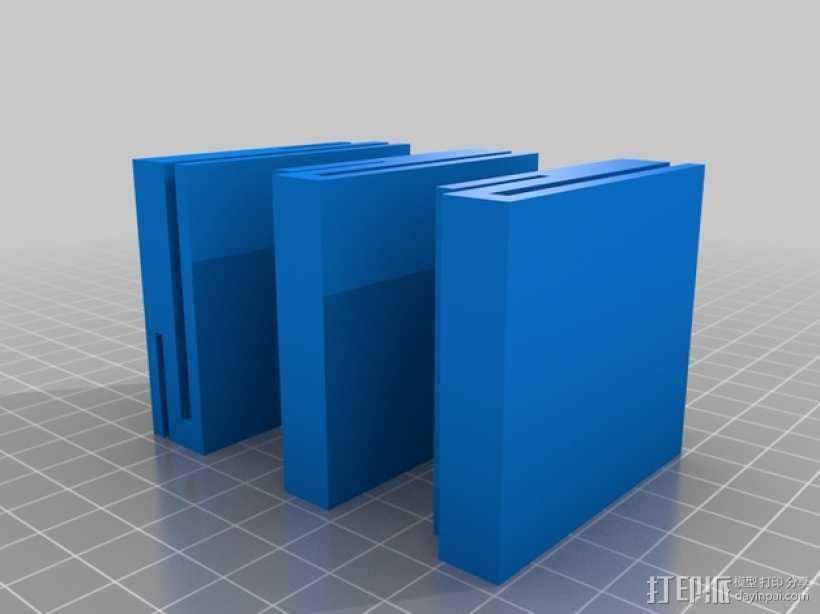 Solidoodle 3适配器 3D打印模型渲染图