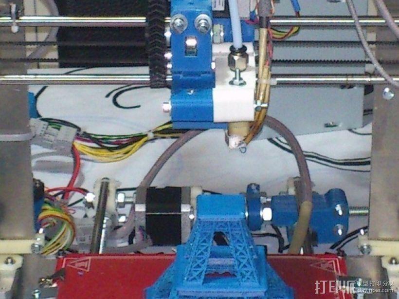 Prusa 3 挤出器 3D打印模型渲染图