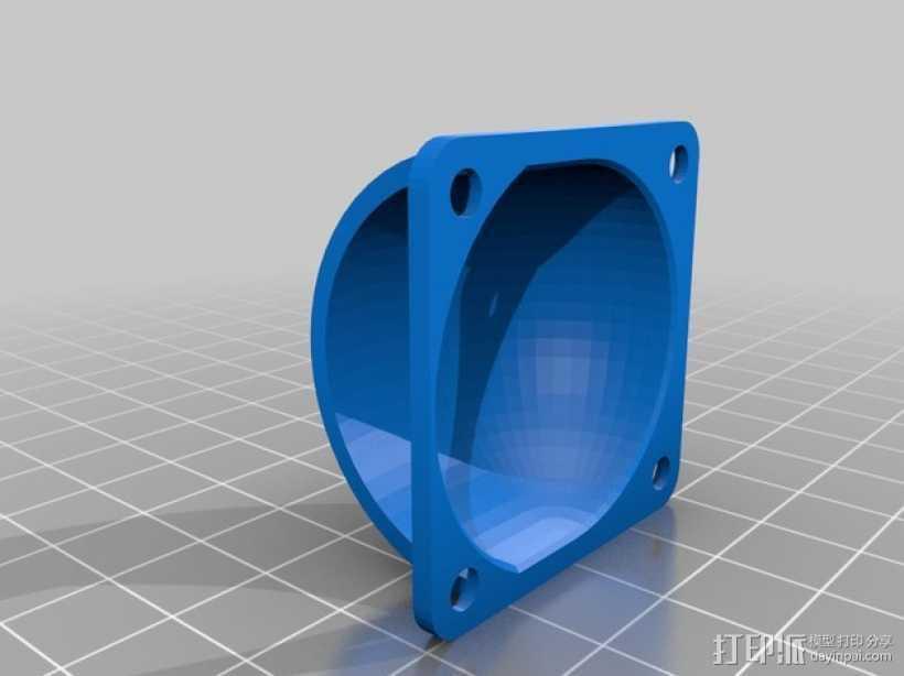 风扇罩 3D打印模型渲染图