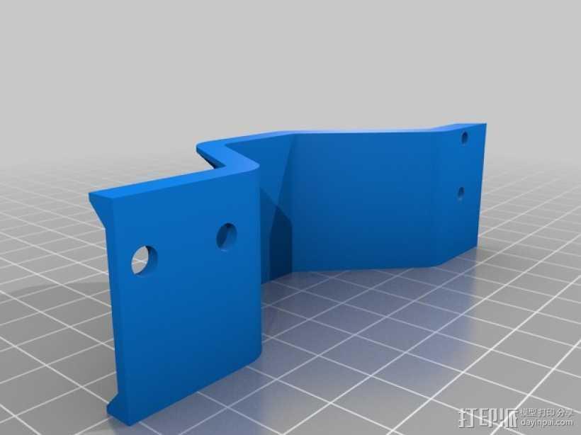 Y轴桥架 3D打印模型渲染图