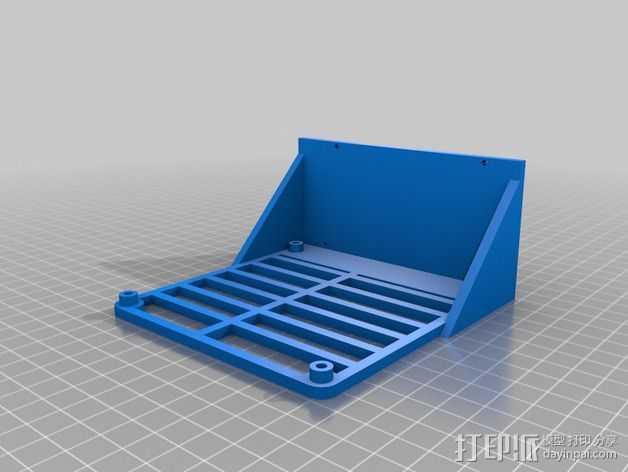 Prusa i3适配器 3D打印模型渲染图