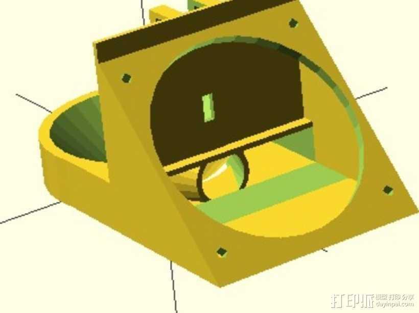 通风导管 3D打印模型渲染图