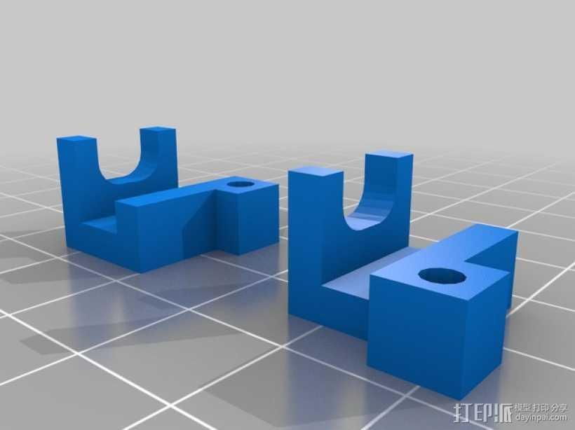 Tensioner v2适配器 3D打印模型渲染图