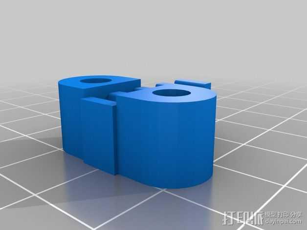 K8200 X-belt支架 3D打印模型渲染图