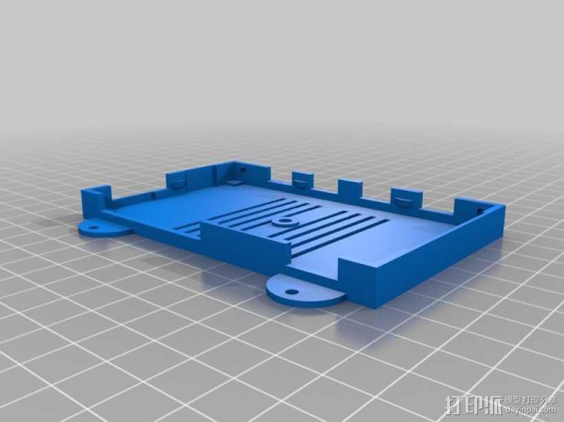 挂载 3D打印模型渲染图