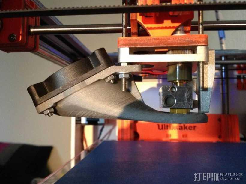 管垫片 3D打印模型渲染图