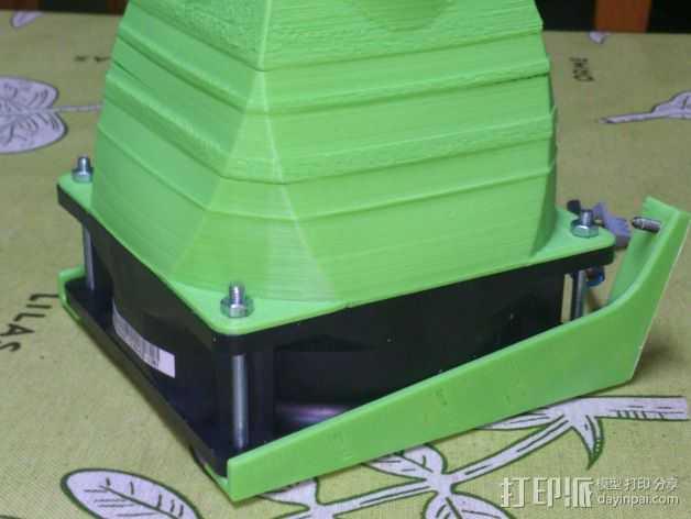 prusa 3适配器 3D打印模型渲染图