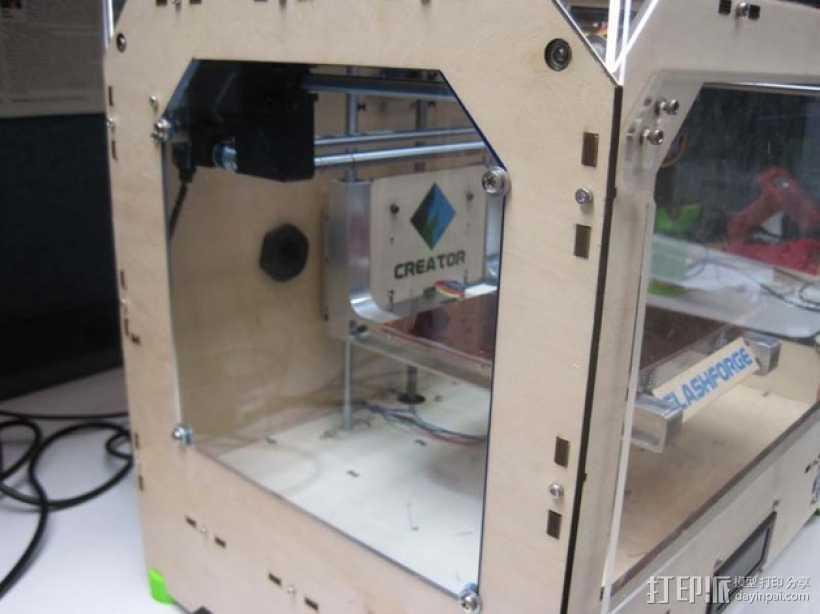 有机玻璃 3D打印模型渲染图