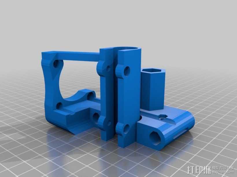 Z轴支架 3D打印模型渲染图