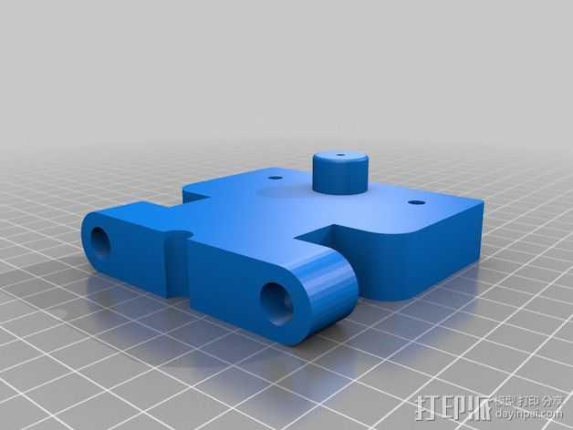 Prusa I2适配器 3D打印模型渲染图