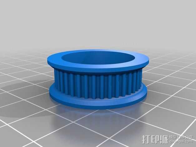 T2轴承  3D打印模型渲染图