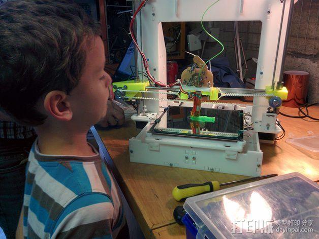 Graber++ 3D打印模型渲染图
