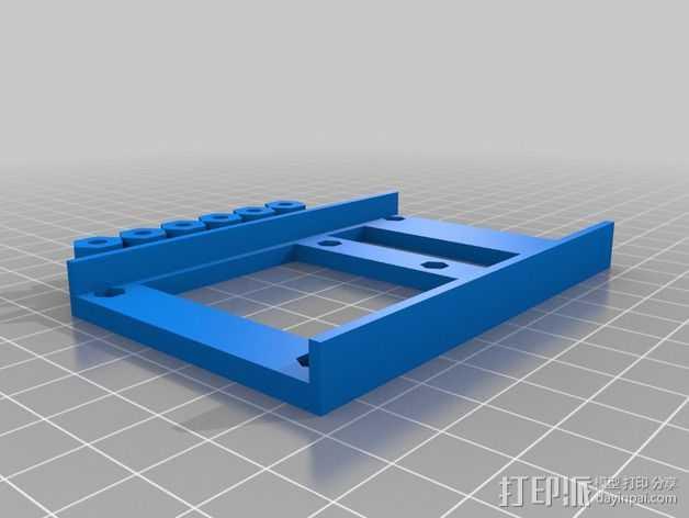 MEGA 2560 适配器 3D打印模型渲染图