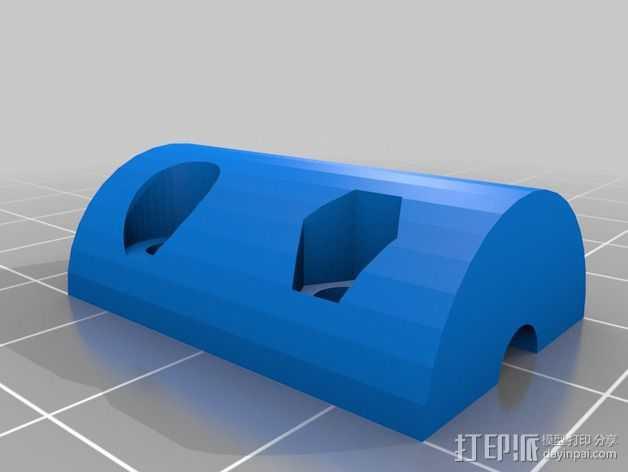 Z轴螺旋杆 3D打印模型渲染图