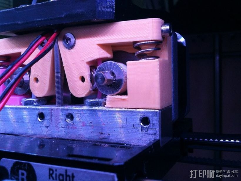 适配器 3D打印模型渲染图