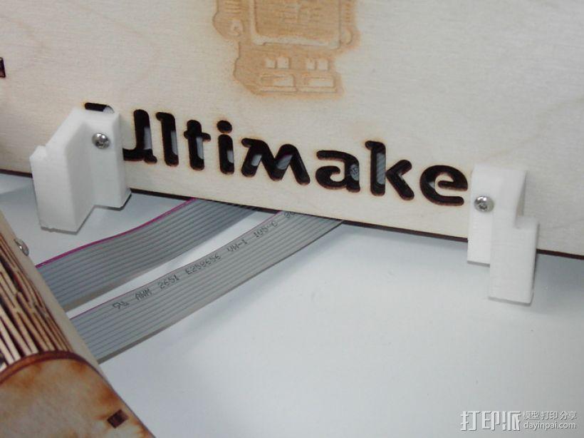 中轴适配器 3D打印模型渲染图