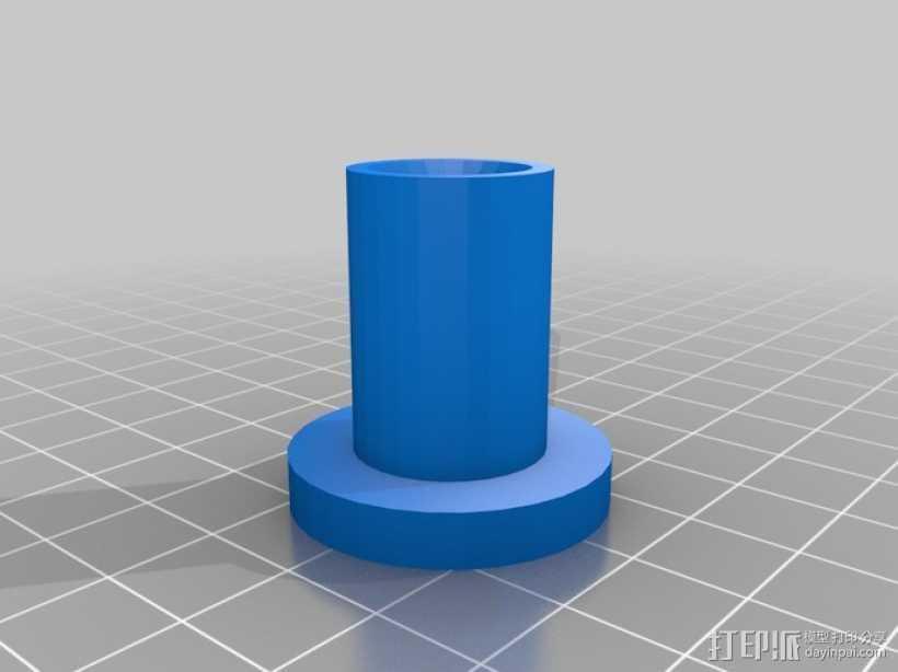 10x2梯形螺母 3D打印模型渲染图