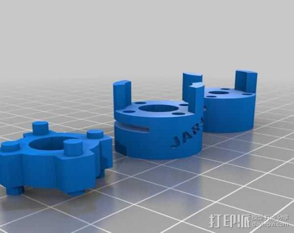 NEMA 23 3D打印模型渲染图