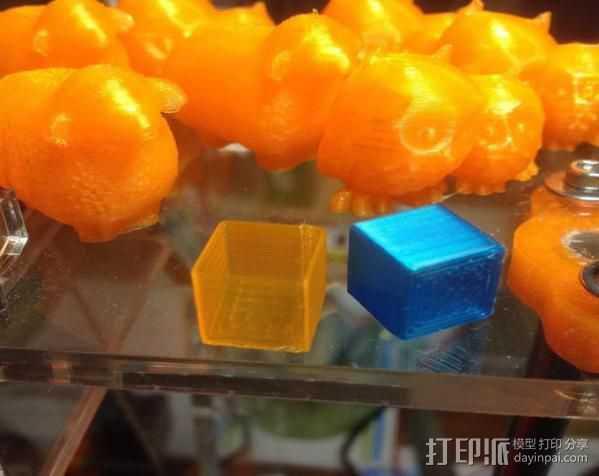 校准模块 3D打印模型渲染图