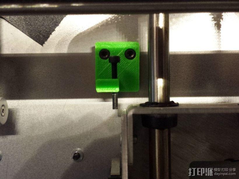 Z轴固定器 3D打印模型渲染图