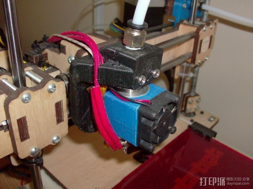 E3D 适配器 3D打印模型渲染图