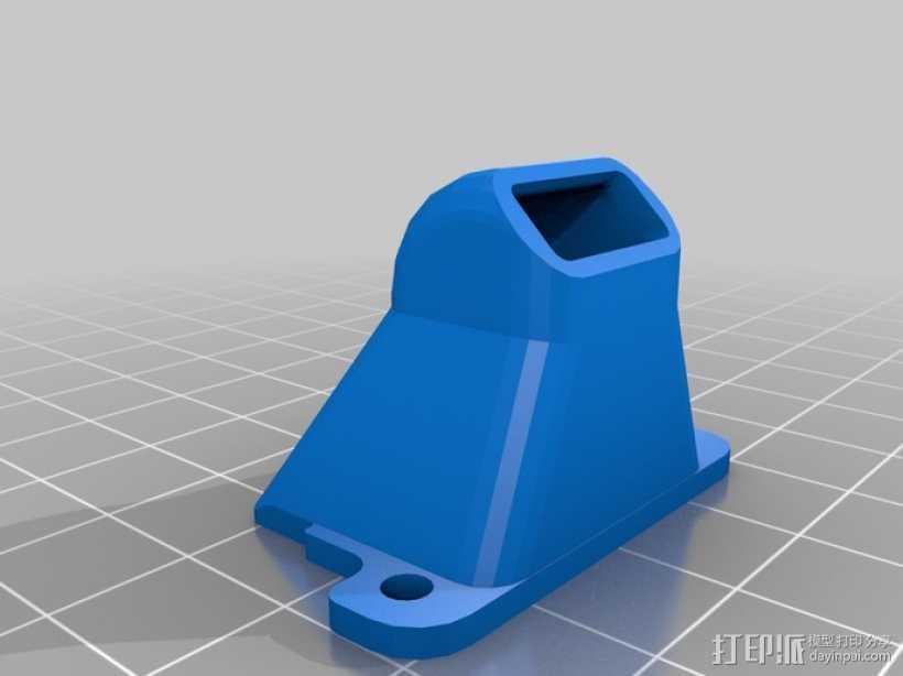 喷嘴 3D打印模型渲染图