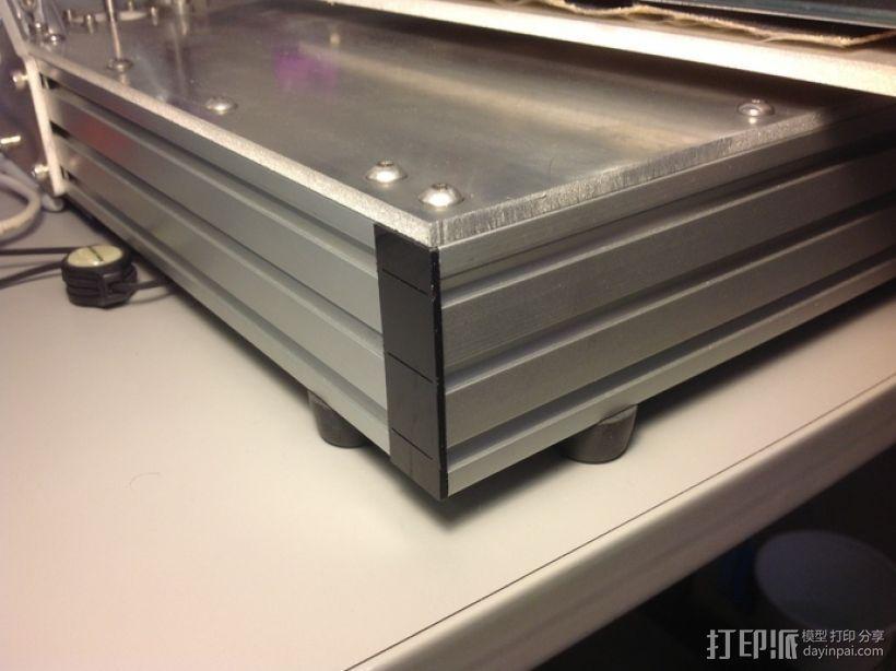 边角覆盖板 3D打印模型渲染图