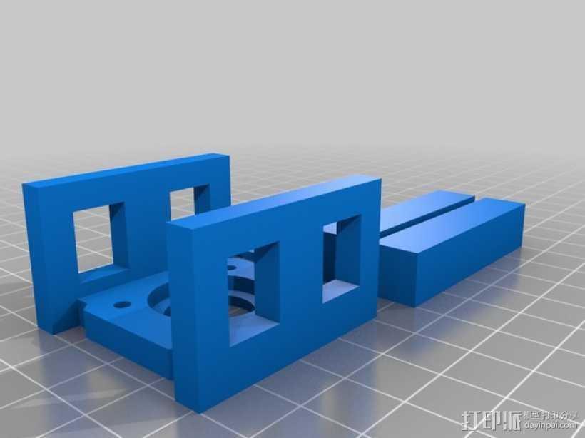 多功能夹  3D打印模型渲染图