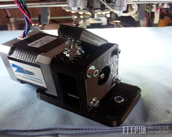 Byteborg驱动器 3D打印模型渲染图