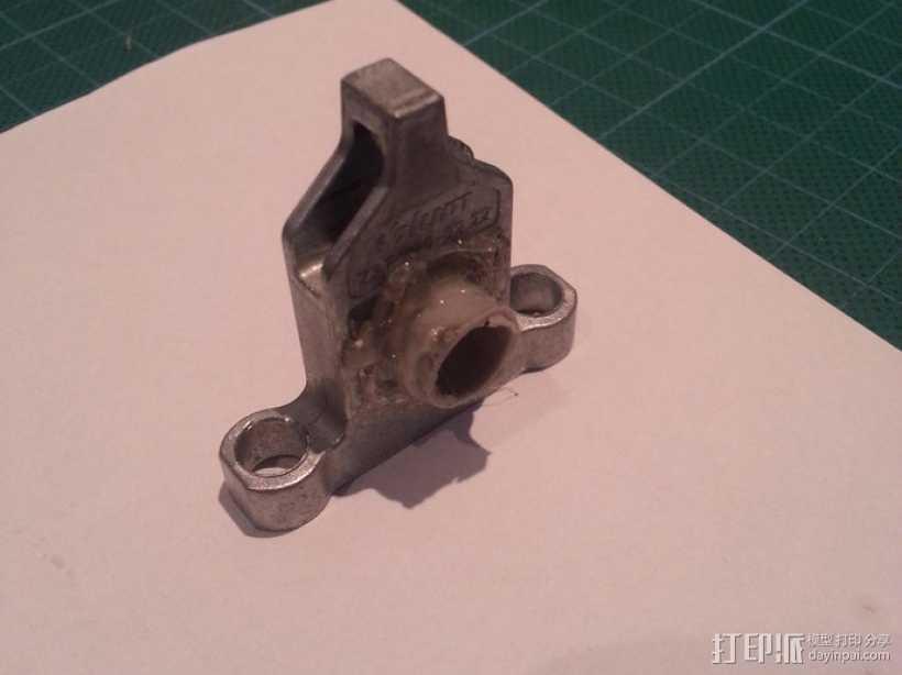 Z轴轴承 3D打印模型渲染图