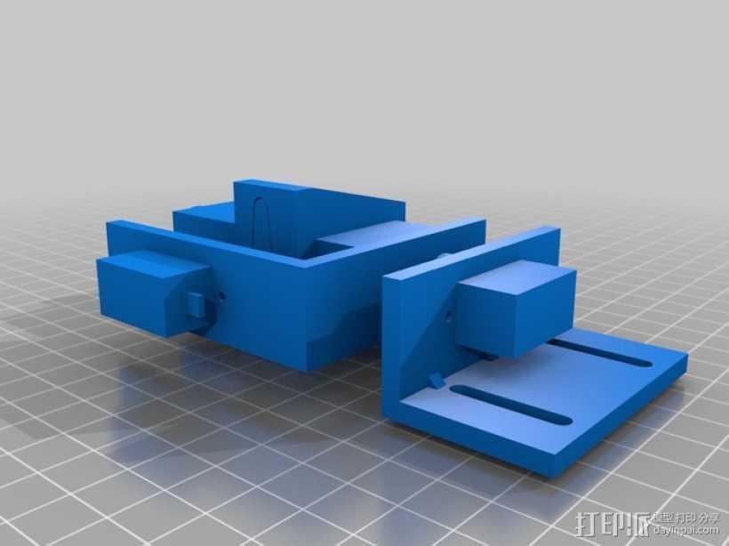 万圣节相机 3D打印模型渲染图
