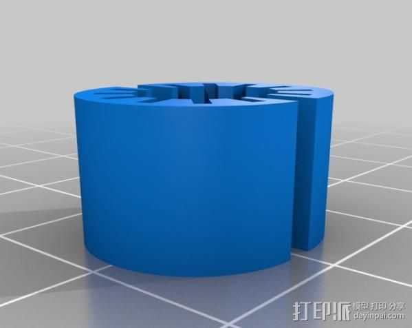 参数线性轴承 3D打印模型渲染图