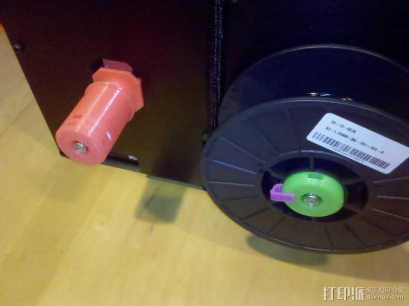 50mm旋转轴夹 3D打印模型渲染图