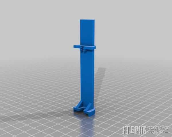 挤出校准器 3D打印模型渲染图